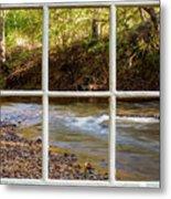 River Falls Metal Print