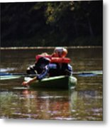 River Float Metal Print
