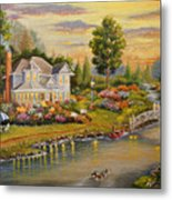 River Home Metal Print