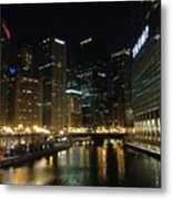 River In Chicago Metal Print