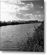 River In Germany Metal Print