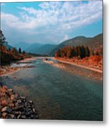 River In The Kingdom Of Happiness Metal Print