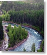River In Valley G Metal Print