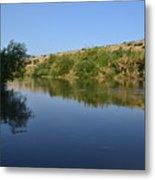 River Jordan Metal Print by Atul Daimari