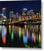 River Lights 2017 Metal Print