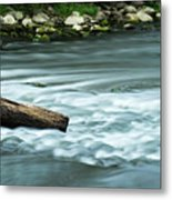 River Motion Metal Print
