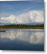 River Of Clouds Metal Print