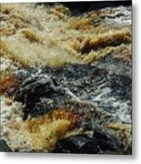 River On The Rocks Metal Print