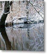 River Reflection 4 Metal Print