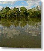 River Reflection Metal Print