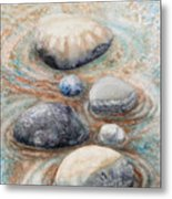 River Rock 2 Metal Print