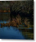 River Rock Island Metal Print