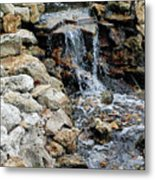 River Rock Of The Unknown Metal Print