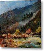 River Semois Metal Print