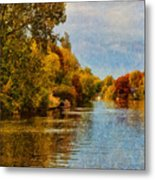 River Thames At Staines Metal Print
