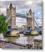 River Thames Metal Print