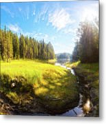 River Valley Metal Print