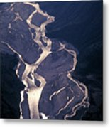 River Valley In Nepal Metal Print