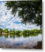 River View At Cartersville 1878ta Metal Print