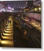 River Walk - Cheonggyecheon - Seoul Metal Print