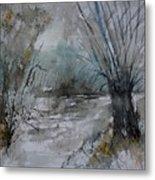 River Watercolor 711082 Metal Print