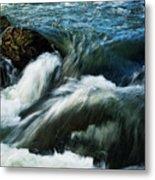 River With Rapids Metal Print