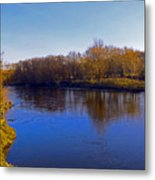 River Wye,herefordshire Uk Metal Print