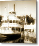 Riverboat, Liberty Square, Walt Disney World Metal Print