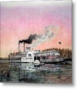 Riverboat Saint Paul Metal Print