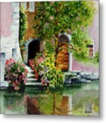 Riverfront Property Metal Print