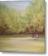 Rivergreen Metal Print