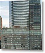 Riverhouse, One Rockefeller Park At 2 River Terrace In Battery Park City Metal Print
