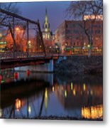 Riverplace Minneapolis Little Europe Metal Print