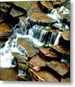 Riverside Place Falls  Metal Print