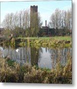 Riverside Walk - Burton On Trent Metal Print