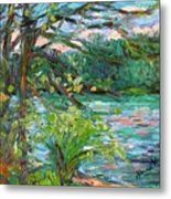 Riverview Spring Stage One Metal Print