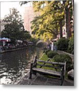 Riverwalk Iv Metal Print