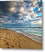 Riviera Beach Sunrise Metal Print