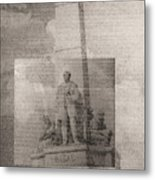 Rizal-full And Detail 1966-67 Metal Print by Glenn Bautista