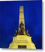 Rizal Monument Metal Print