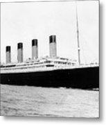 Rms Titanic Metal Print