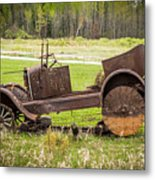Road Side Art II Metal Print