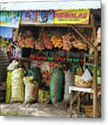 Road Side Store Philippines Metal Print