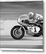 Road  Speed Metal Print by Lar Matre