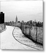 Road To A City Metal Print