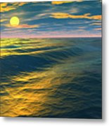 Road To Atlantis Metal Print