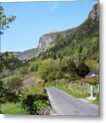 Road To Benbulben County Leitrim Ireland Metal Print