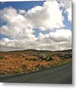 Road To Glenveagh National Park No 2 Metal Print