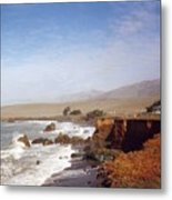 Road To Monterey Metal Print