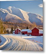 Road To Mount Mansfield Metal Print